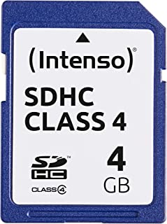 Intenso SDHC 4GB Class 4 Speicherkarte blau