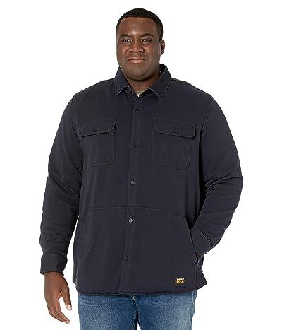 Timberland PRO Extended Mill River Fleece Shirt Jacket (Dark Navy) Men