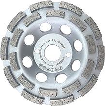 H HILABEE 4 Types De Disques De Polissage De Diamant Disques De Meulage De Pierre Pour B/éton Grains 400 Marbre Et 125mm