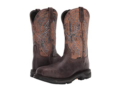 Ariat WorkHog(r) XT Coil Wide Square Toe Carbon Toe (Woodsmoke) Men