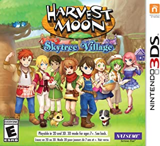 Harvest Moon Skytree Village - Nintendo 3DS
