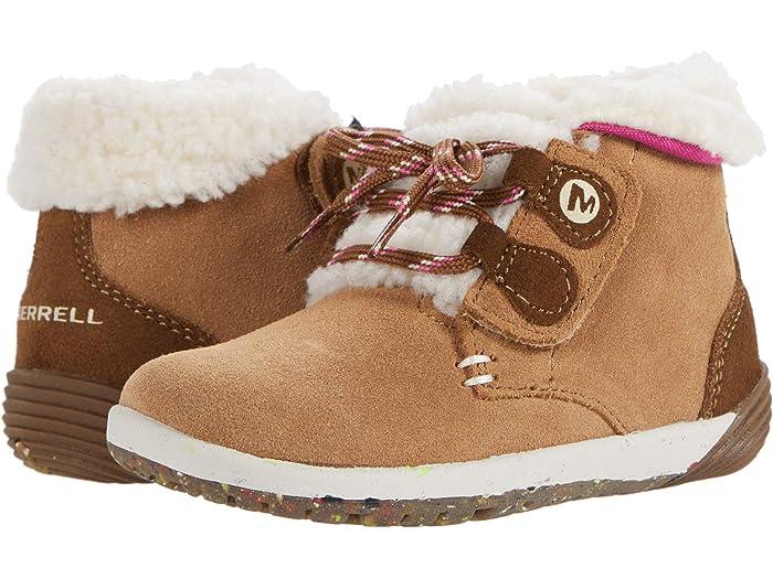 Merrell Kids Bare Steps Cocoa (Toddler
