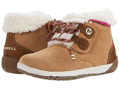 Merrell Kids Bare Steps Cocoa (Toddler) Girl
