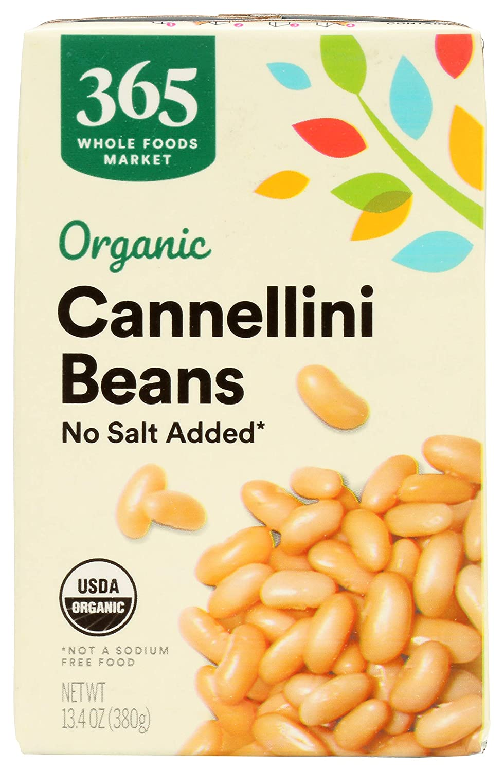 365 by Whole Foods Market Beans Super sale period limited Organi Max 69% OFF Added No Salt Cannellini