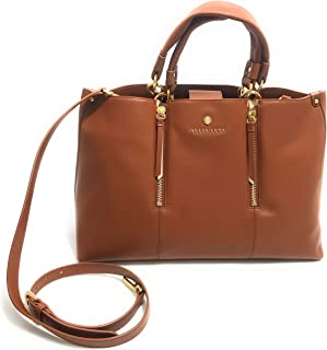 Guess Borsa shopping Luxe mod. Eve small satchel in pelle