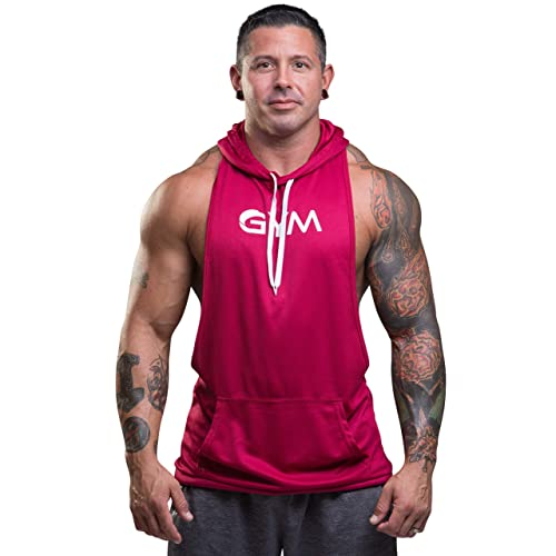 5ba9b84ace9b Men s Bodybuilding Sleeveless Hoodie Gym Athletic Workout Muscle Fitness  Tank Tops
