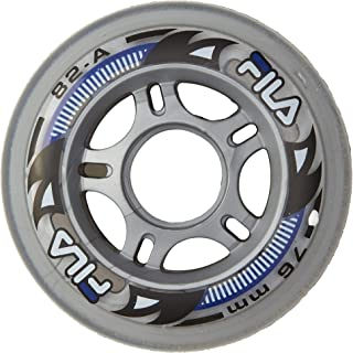 Fila Wheels FILA wheels 72mm/82A x 8, Blanco, 90 mm