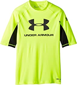 Under Armour Kids - UA Comp Short Sleeve Rashguard (Big Kids)