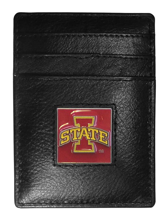 椅子洪水膨らませるSiskiyou Sports CCH83 College Money Clip/Card Holder - Iowa St. Cyclones