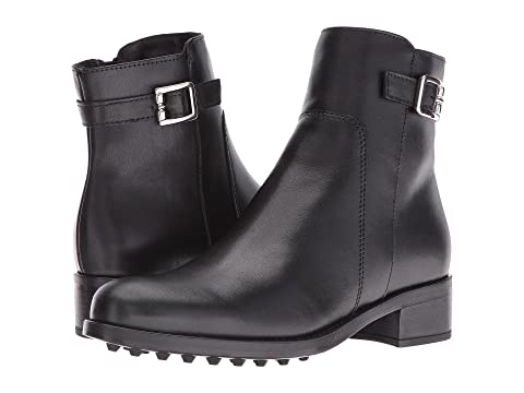 100% credibility Shelby' Waterproof Bootie Women Womens Black Leather La Canadienne Womens Boots
