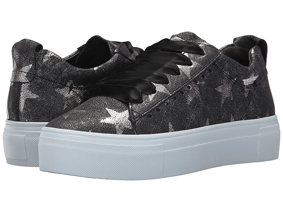Kennel & Schmenger Big Star Print Sneaker (Black Big Star) Women