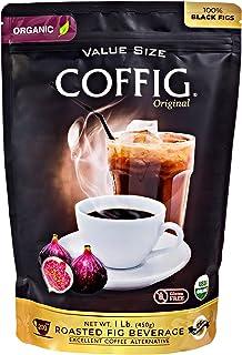 COFFIG Roasted Fig Beverage - Coffee Substitute - Caffeine Free - Certified 100% Organic Beverage - Sugar Free - Gluten Fr...
