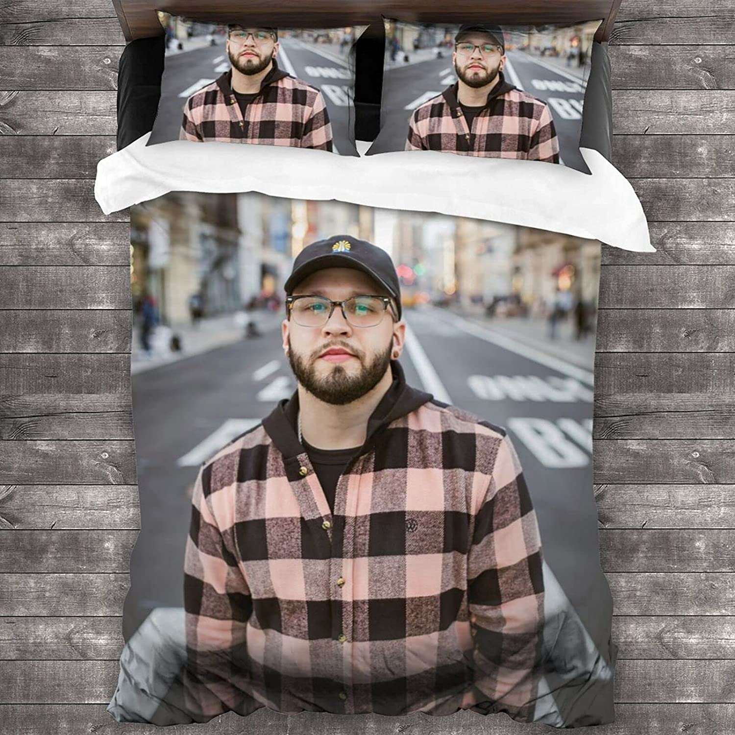 Super-cheap Andy Mineo Quilt Set Max 79% OFF Decorative 3 Pill with 2 Bedding Piece
