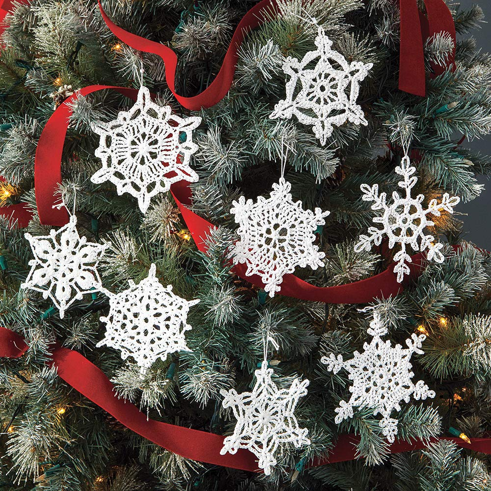 Make Your Own Snowdrift---to Give or to Keep 100 Snowflakes to Crochet