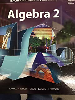 Algebra 2 Teacher Edition with Solution Key