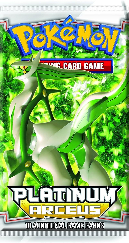 Pokemon 10510  Platin 04 Arceus Booster englisch