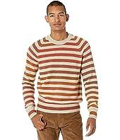 Regimented Striped Sweater