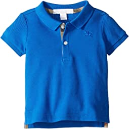 Burberry Kids - Palmer Short Sleeve Pique Polo Shirt (Infant/Toddler)
