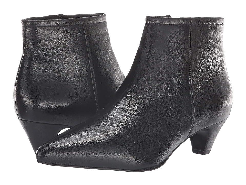 Seychelles Biome Bootie (Black Leather) Women
