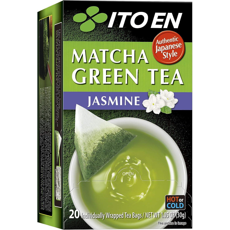 Ito En Matcha Tea Green count Jasmine 20 Sale Special Price Finally popular brand