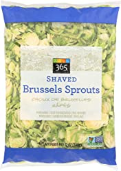 365 Everyday Value, Shaved Brussels Sprouts, 12 oz