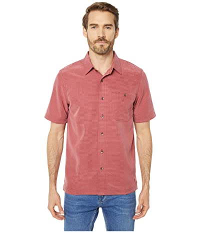 Royal Robbins Mojave Desert Pucker S/S (Rosewood) Men