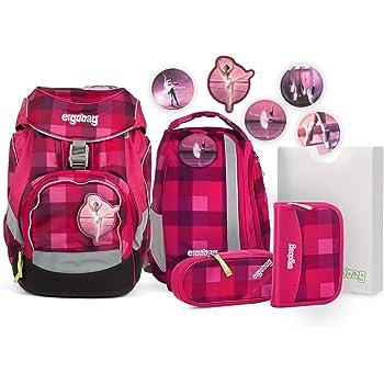 ergonomische rucksäcke schwarz pink