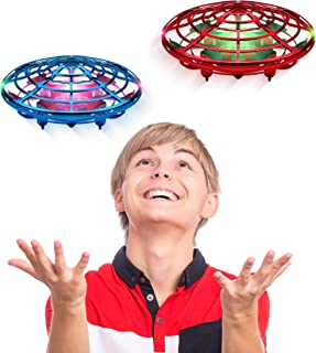 Force1 Scoot Duo Hand Drones for Kids - Kids Drone, Flying Ball Drone, Toys for Boys and Girls (2pk)