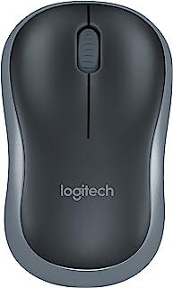 LOGITECH 910002225 M185 Wireless Mouse, Black
