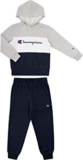 Champion Boys Newborn Infant Two Piece Hooded Fleece Pant Sport Sets