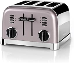 Cuisinart CPT180PIE Toaster 4 tranches, rose vintage