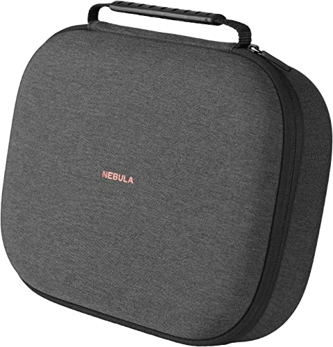 wholesale Nebula popular Solar/Solar Portable Official Carry Case, Nebula by popular Anker, Polyurethane Leather, Soft Ethylene-Vinyl Acetate Material, Splash-Resistance, Premium Protection Projector Travel Case outlet sale