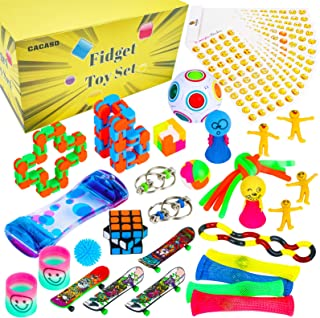 43 Pcs Sensory Fidget Toys Set, Stress Relief Hand Toys for ADHD ADD Anxiety Autism, Stress Relief and Anti-Anxiety Toys S...