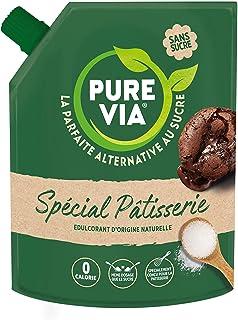 Pure Via - Spécial Pâtisserie - Alternative au sucre d'origine naturelle avec de la Gomme d'Acacia, 1 x 380 g