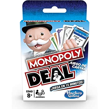 Hasbro Gaming Monopoly Deal Juego de Cartas Game, Unitalla, Multicolor