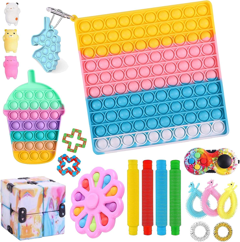 VINMEN TIK Tok Ranking TOP1 Fidget Toys Genuine Free Shipping Simple Cheap Pack Set Dimple