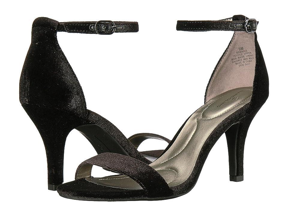 Bandolino Madia (Black Velvet) High Heels