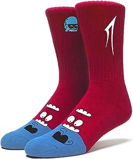Lakai Unisex-Adults Glaboe Crew Sock Redsize, Red, NS