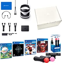 PlayStation VR2 MegaPack - Skyrim, Doom, Farpoint, Astro Bot, VR incl. Twin Move Controllers