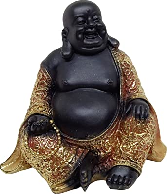 Feng Shiu Cute Lucky Laughing Buddha Baby Statue for Good Luck Wealth, Money and Happiness