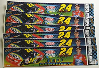 Jeff Gordon #24 1999 Dupont Bumper Strip/Sticker (Nascar) 6 Pack