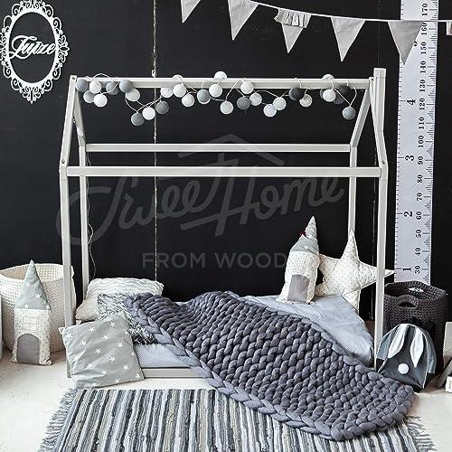 Amazon Com Toddler House Bed Crib Size Handmade