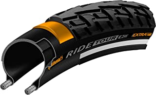 Continental Ride Tour Replacement Bike Tire - Extra Puncture Protection, E-Bike Rated City/Trekking Bicycle Tire (12