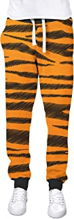 Rainbow Rules Tigger Stripes Winnie The Pooh Inspired Cuffed Joggers Sweatpants Jogging Bottoms