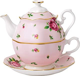 Royal Albert New Country Roses Tea Party Pink Tea for One, Pink