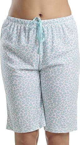 Pajamas Cropped Pj Bermuda Short
