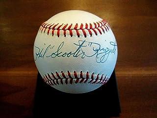 Phil Rizzuto Signed Baseball - Scooter Hof Mvp Vtg Oal - JSA Certified - Autographed Baseballs
