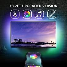 13.2Ft TV Backlights USB Light Strip Kit for 55