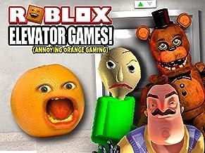Clip: Roblox Elevator Games! (Annoying Orange Gaming)