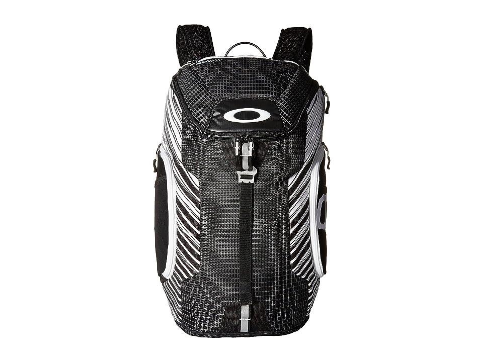 Oakley Link Pack (Black/White) Backpack Bags